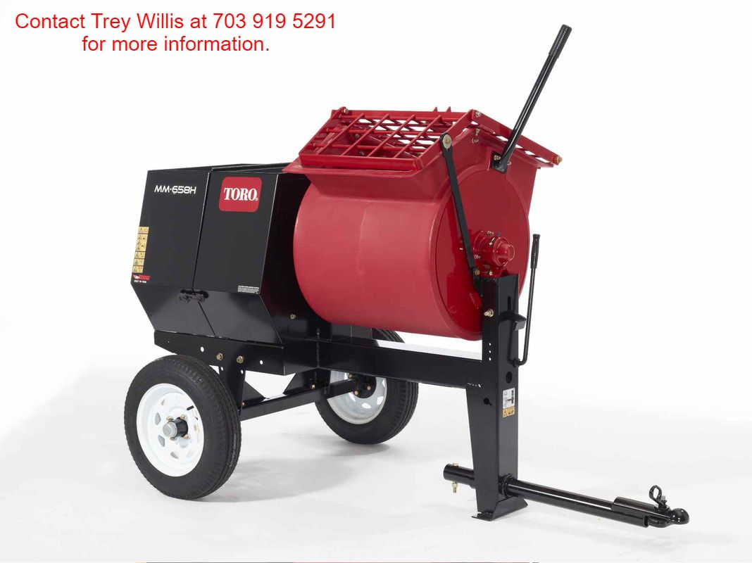toro 6 cubic foot mortar mixer