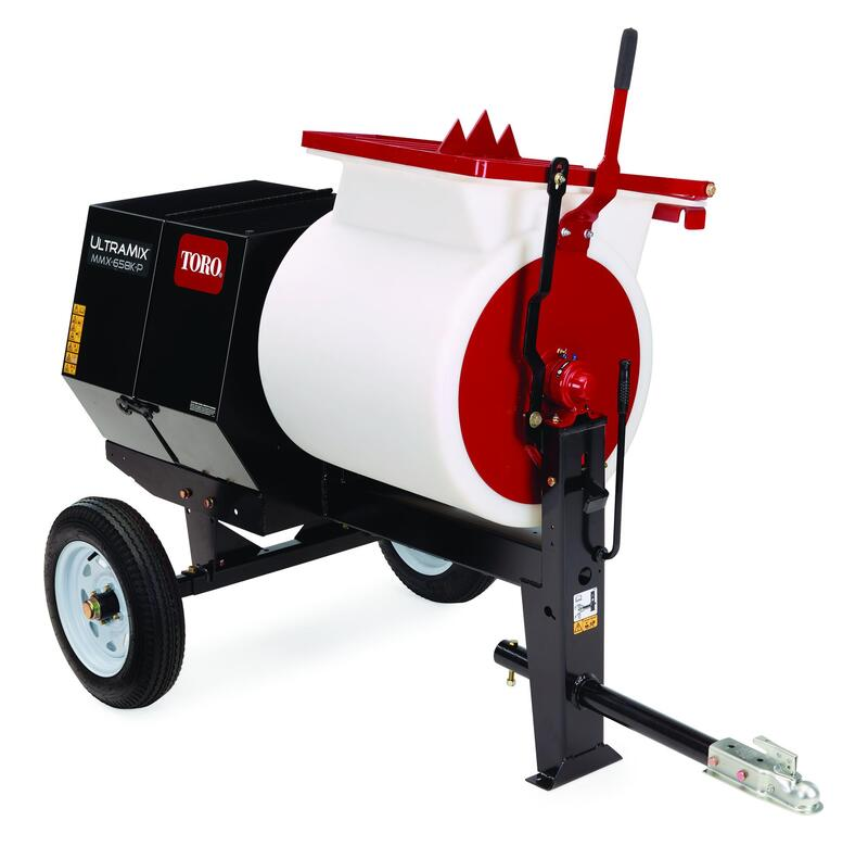 toro 6 cubic foot mortar mixer machine