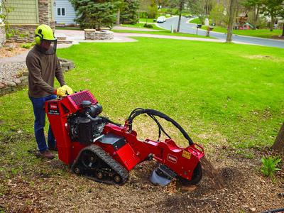 toro tracked stumpgrinder